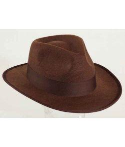Adventure hat, brun