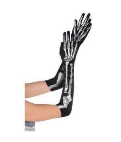 Skelet handsker, lange