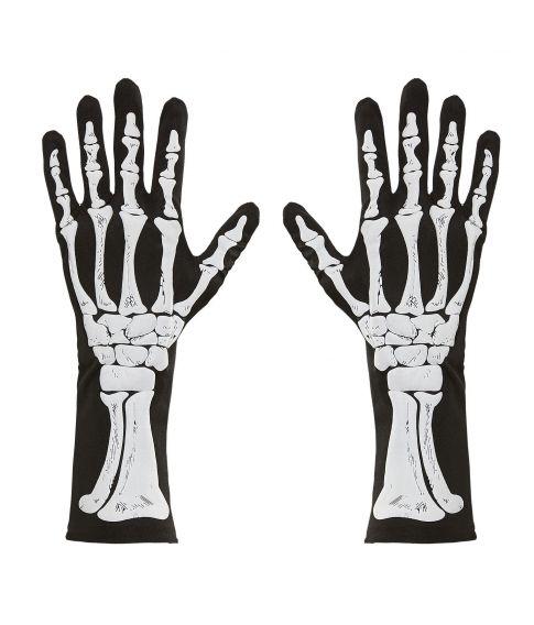 Skelet handsker 35 cm