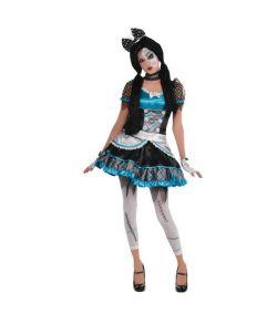 Halloween dukke kostume til piger.