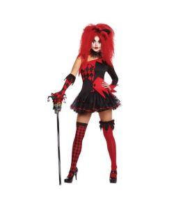 Halloween nar kostume til kvinder