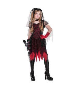 Halloween brud kostume til piger