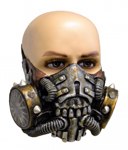 Doomsday gasmaske latex