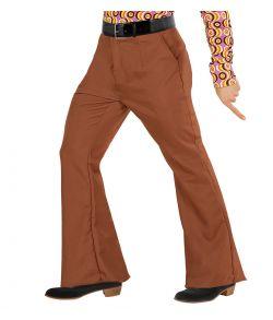 Brune Groovy 70er bukser