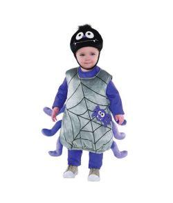 Edderkop kostume til baby