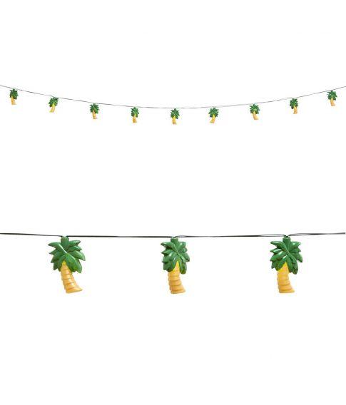 Frisk Lyskæde med palmetræer 2,5 m AU-57