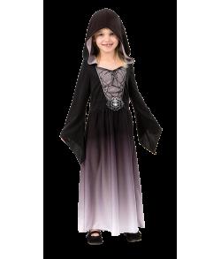Grå halloween kjole til piger.