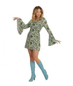70er kjole til udklædning.