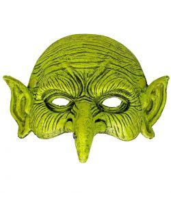 Grøn heksemaske.