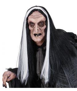 Hekse maske hår