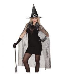 Hekse kappe og hat.