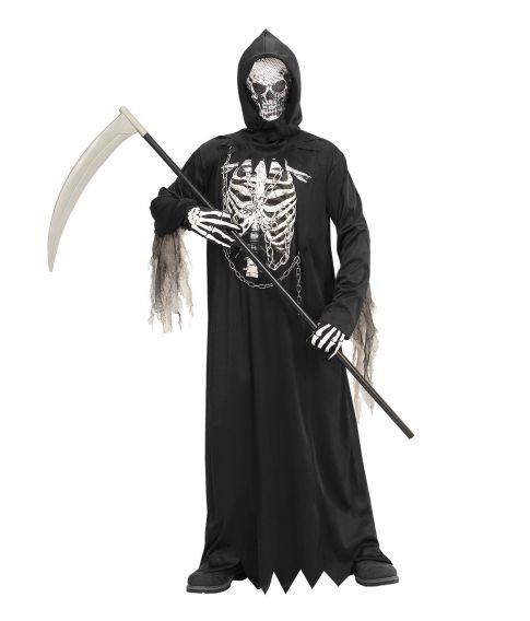 Billigt Døden kostume til børn.