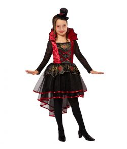 Vampiress kjole til børn