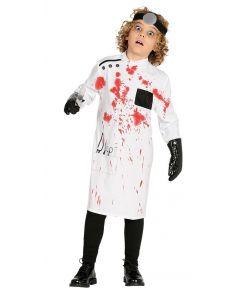 Blodigt doktor kostume til børn.