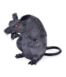Siddende rotte til halloween dekorationen.