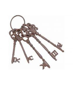 Rustne metal nøgler.
