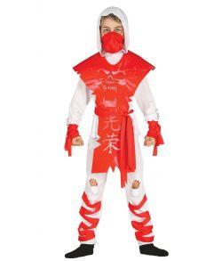 Dark Ninja kostume til børn.