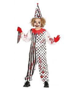 Halloween klovnekostume til børn.