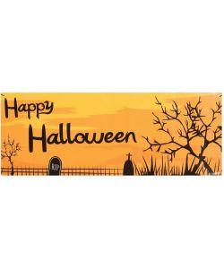 Happy Halloween skilt 38x150