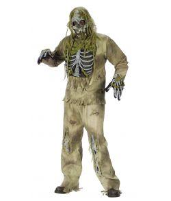 Skeleton Zombie kostume