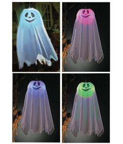 Hængende spøgelse med lys