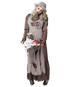 Zombie Maid kostume