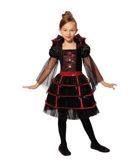 Vampyr kostume til piger.