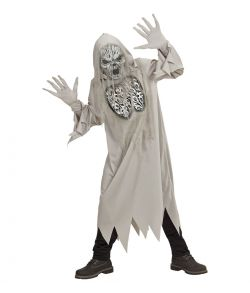 Uhyggeligt spøgelse kostume til børn.