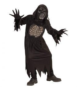 Ghoul kostume med maske