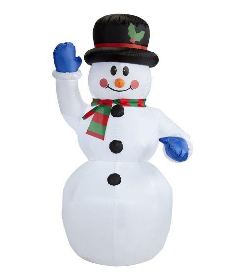 Oppustelig snemand 150 cm