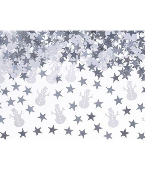 Snemand konfetti 7g