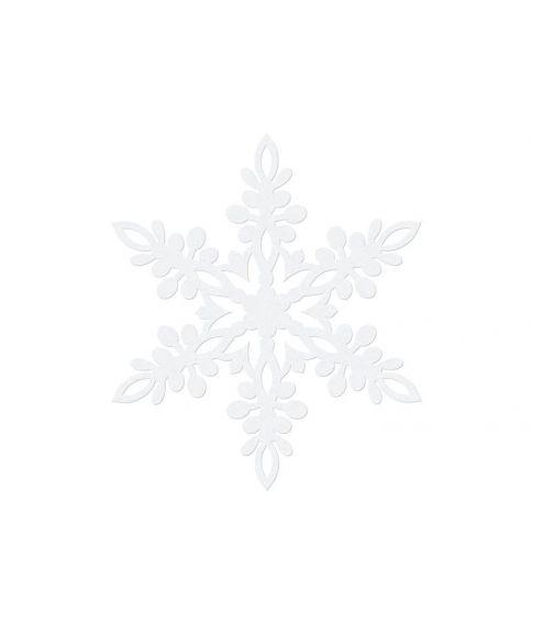 Snefnug dekoration 10 stk