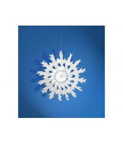 Mini snefnug dekoration 25cm
