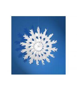 Snefnug dekoration 37 cm