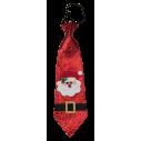 Julemand slips, rødt