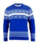 Julesweaters The Nordic Blue