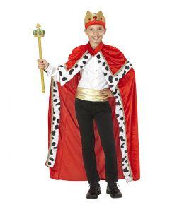 Kongekappe kostume til børn