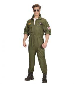 Jagerpilot kostume til voksne.