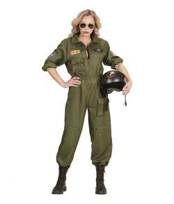Jagerpilot kostume til damer.