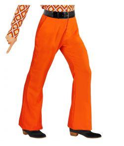 Orange 70er bukser