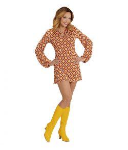 Smart 70er kjole