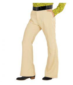 Beige bukser til 70er udklædningen.