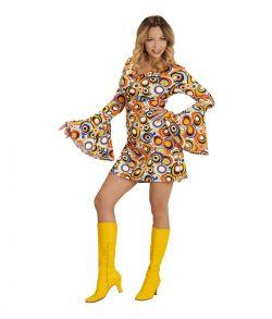 Groovy 70er Bubbles kjole