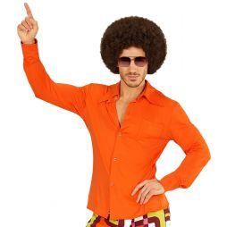 Orange 70er skjorte