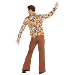 Groovy Bubbles 70er skjorte