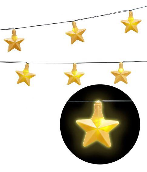 Stjerne lyskæde 2,5 m