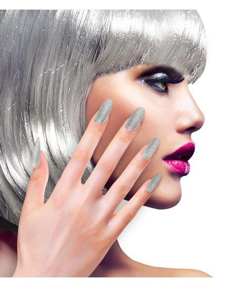 Negle, sølv glimmer