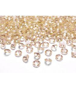 Diamant konfetti guld