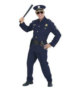Politimand kostume til voksne.