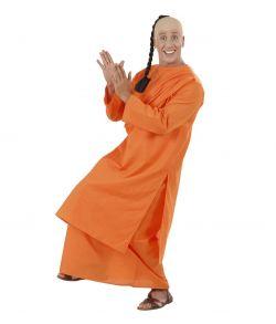 Buddhistisk munk kostume